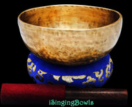 "New Tibetan Singing Bowl #8684 : Thadobati  7"", Contemporary, A#3 & D#6."