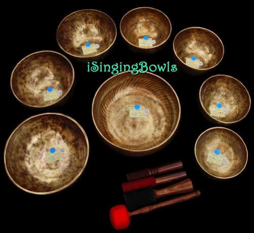 Tibetan Singing Bowl Set #72