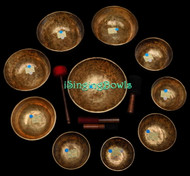 Alexandre Tannous Method Singing Bowl Set #74b