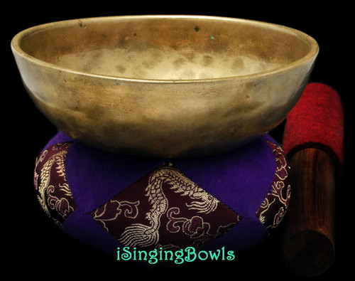 Antique Tibetan singing bowl #8829