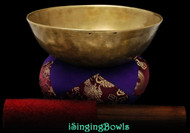 Antique Tibetan singing bowl #8834