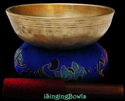 Antique Tibetan singing bowl #8843
