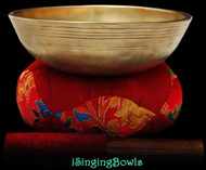 Antique Tibetan singing bowl #8843