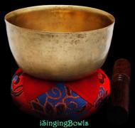 Antique Tibetan singing bowl #8842