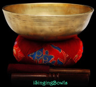 Antique Tibetan singing bowl #8851