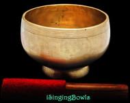 Antique Tibetan Stem style singing bowl #8822
