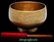 Antique Tibetan Stem style singing bowl #8825