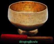 Antique Tibetan Stem style singing bowl #8826