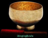 Antique Tibetan Stem style singing bowl #8891