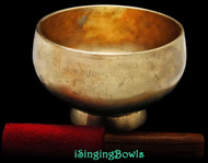 Antique Tibetan Stem style singing bowl #8893