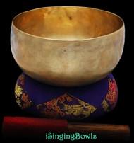 Antique Tibetan singing bowl #8809