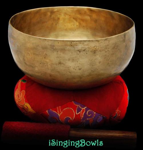 Antique Tibetan singing bowl #8812