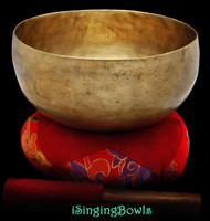 Antique Tibetan singing bowl #8812