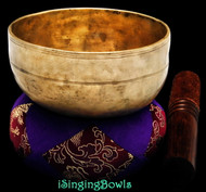 Antique Tibetan singing bowl #8795