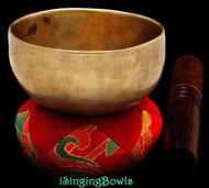 Antique Tibetan singing bowl #8865