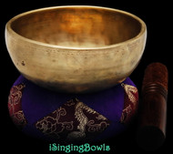 Antique Tibetan singing bowl #8869