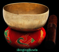 Antique Tibetan singing bowl #8870