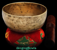 Antique Tibetan singing bowl #8872