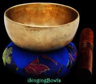 Antique Tibetan singing bowl #8879