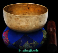 Antique Tibetan singing bowl #8880