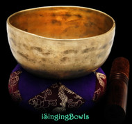 Antique Tibetan singing bowl #8889