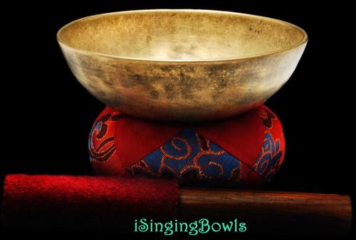 Antique Tibetan singing bowl #8827