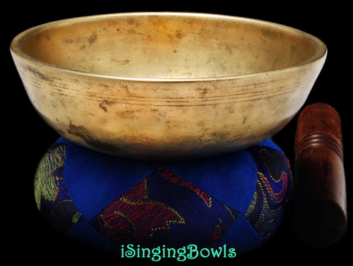 Antique Tibetan singing bowl #8853