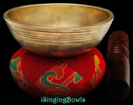 Antique Tibetan singing bowl #8859