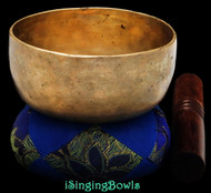 Antique Tibetan singing bowl #8838