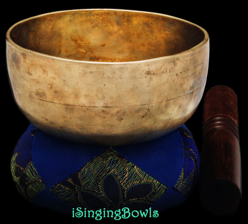 Antique Tibetan singing bowl #8875