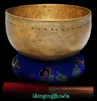 Antique Tibetan singing bowl #8811