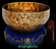 "New Tibetan Singing Bowl #8876 : Cup 5 7/8"",  C#4 & G5."