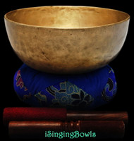 Antique Tibetan Singing Bowl #9273