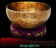 "New Tibetan Singing Bowl #8939: Thadobati 6 7/8"",  A#3 & E5."
