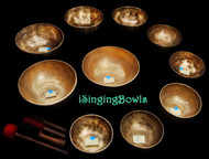 Singing Bowl Set #87b: Alexandre Tannous Method (10 pc.)