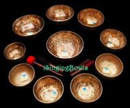 Singing Bowl Set #88: Alexandre Tannous Method (10 pc.)