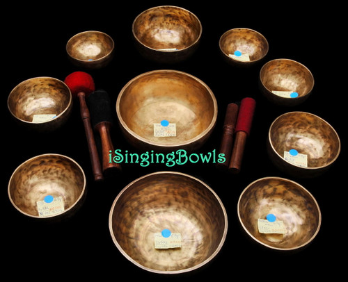 Alexandre Tannous Method Singing Bowl Set #90b