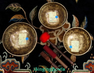 Tibetan Singing Bowl Set #25