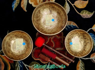 Tibetan Singing Bowl Set #43