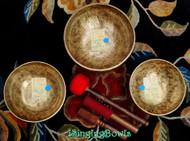 Tibetan Singing Bowl Set #43