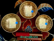 Tibetan Singing Bowl Set #44