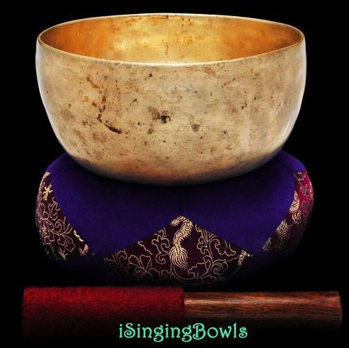 Antique Tibetan Singing Bowl #9266