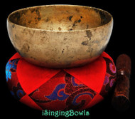 "Antique Tibetan Singing Bowl #9274 : Cup 5 3/4"", circa 17th Century, D4 & G#5."