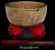 "Antique Tibetan Singing Bowl #9261 : Thado 6 5/8"", ca. 17th Century, G3 & C5."