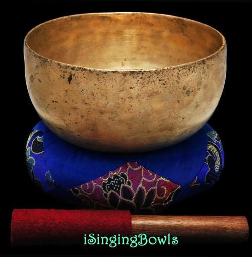 Antique Tibetan Singing Bowl #9259