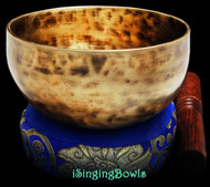 "New Tibetan Singing Bowl #9063 : Cup 5 7/8"", C#4 & G5."