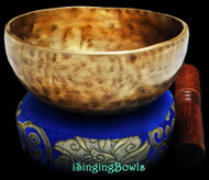 "New Tibetan Singing Bowl #8993 : Cup 5 7/8"", F4 & B5."