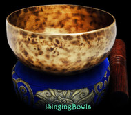 "New Tibetan Singing Bowl #8976 : Cup 5 5/8"", E4 & A#5. VIDEO"