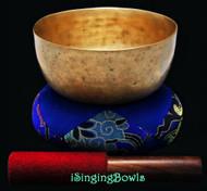 "Antique Tibetan Singing Bowl #8784 : Thado 6 3/8"", ca. 18th Century, F3 & A5."