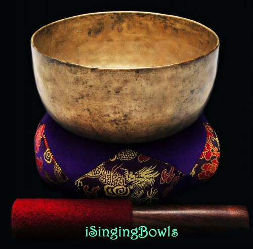 Antique Tibetan Singing Bowl #8783